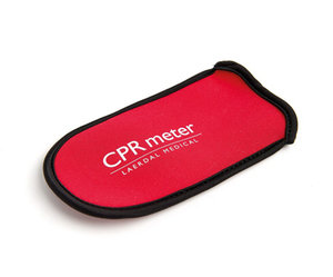 Röd väska för CPR-meter